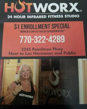 HOTWORX, the 24-hour infrared fitness studio
