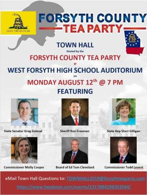 Town Hall at West Forsyth High School